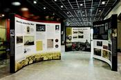 Missouri and the Great War traveling exhibit in the Library Center concourse.