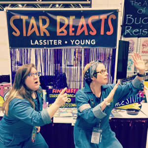 Allyson Lassiter and Stephanie Young, co-creators of Star Beasts