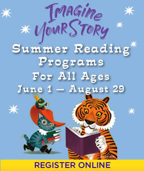 Imagine Your Story Summer Reading Program for All Ages