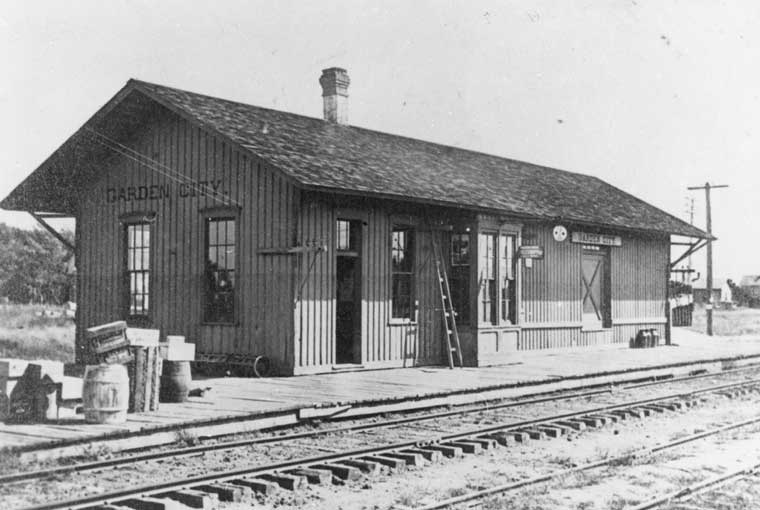 Garden City Missouri Depot The Frisco A Look Back At
