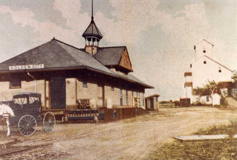Frisco Depots Barton County Missouri