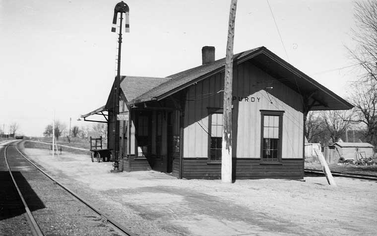 Frisco Depots Barry County Missouri