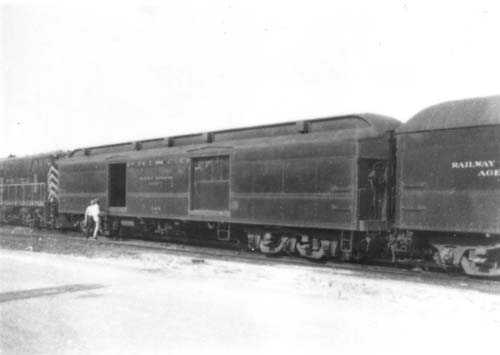Frisco Lines Passenger Cars Baggage