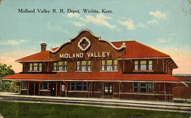 Midland valley depot in wichita kansas the frisco a for Home depot wichita ks