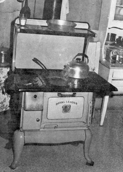 Many things can be cooked at one time on a wood stove. - Springfield-Greene County Library -- Bittersweet