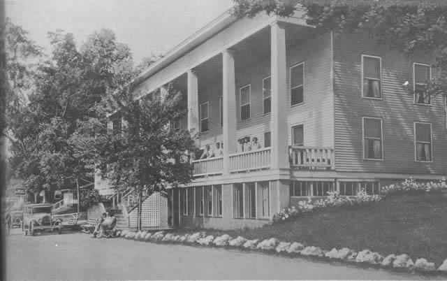 Early View Of Hotel Rockaway