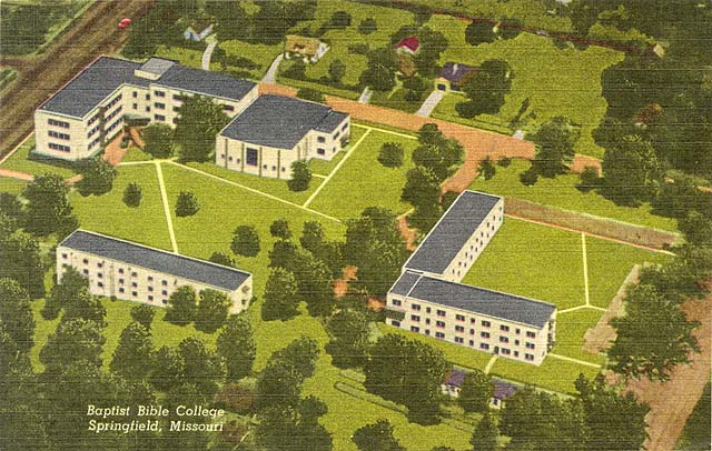 Central Christian College Of The Bible >> Baptist Bible College