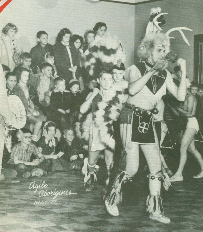boy scout indian dance