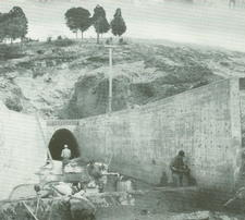 Work on Fellows Lake dam