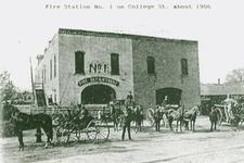 Fire station #1, from the Library Archives.