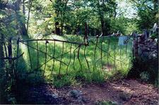 Gates at Springlawn Farm 1999.  Donated by a patron.