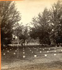 Springfield National Cemetery, ca. 1885, courtesy of Wilson's Creek National Battlefield.