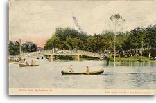 Doling Park postcard post marked 1908