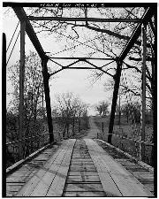 Clear Creek Bridge on Farm Road 33, Ash Grove vicinity, Greene County, MO; ca 1968.
