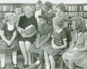 Story hour at the Springfield-Greene County Library circa 1963